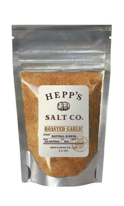 Hepp's Salt Co., Roasted Garlic Sea Salt, 2.5 oz