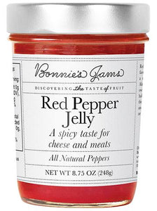 Bonnie's Jams, Red Pepper Jelly, 8.75 oz