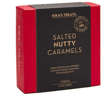 Load image into Gallery viewer, Kika's Treats, Salted Nutty Caramels, 9pc