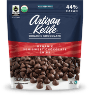 Artisan Kettle, Organic Chocolate Chips, Semisweet, 10 oz