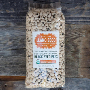 llano Seco, Black Eyed Peas, 16 oz