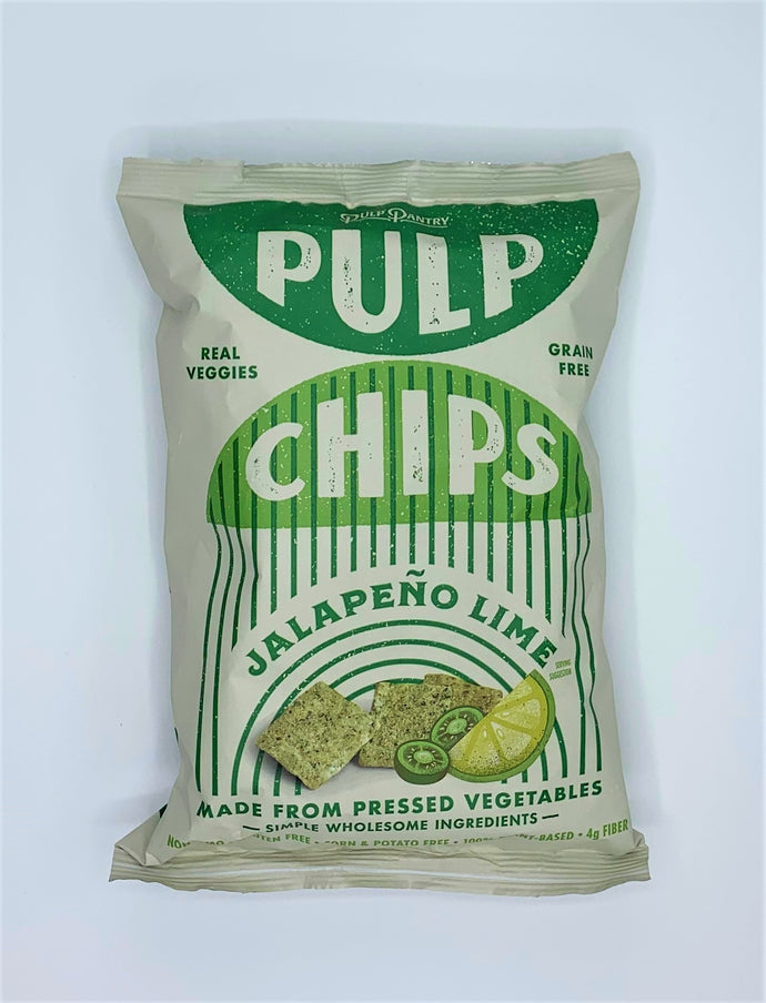 Pulp Chips, Jalapeno Lime, 5oz