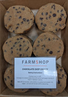 Farmshop Bakery, Frozen Chocolate Chip Cookies, 6 pk