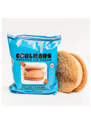 Coolhaus Ice Cream Sandwich, Snickerdoodle Cookie Salted Caramel
