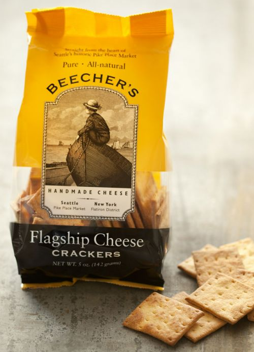 Beecher's, Crackers, Flagship Cheese, 5 oz