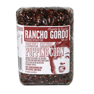 Rancho Gordo, Premium Crimson Popping Corn, 16oz