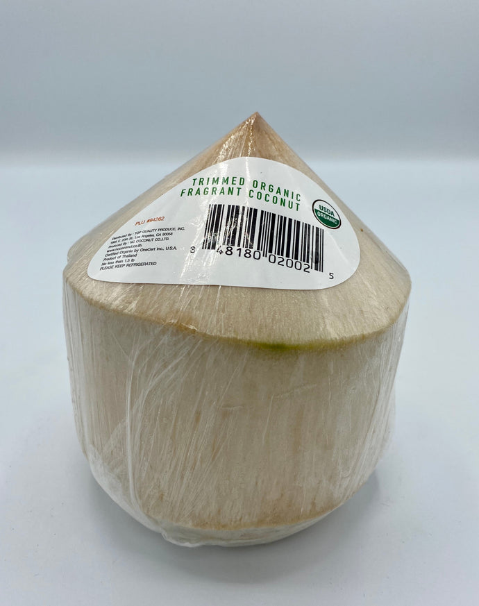 Organic Fragrant Coconut, Trimmed