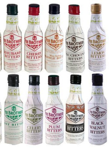Fee Brothers Bitters, Mint, Cranberry, Cherry, Old Fashion, Rochester NY