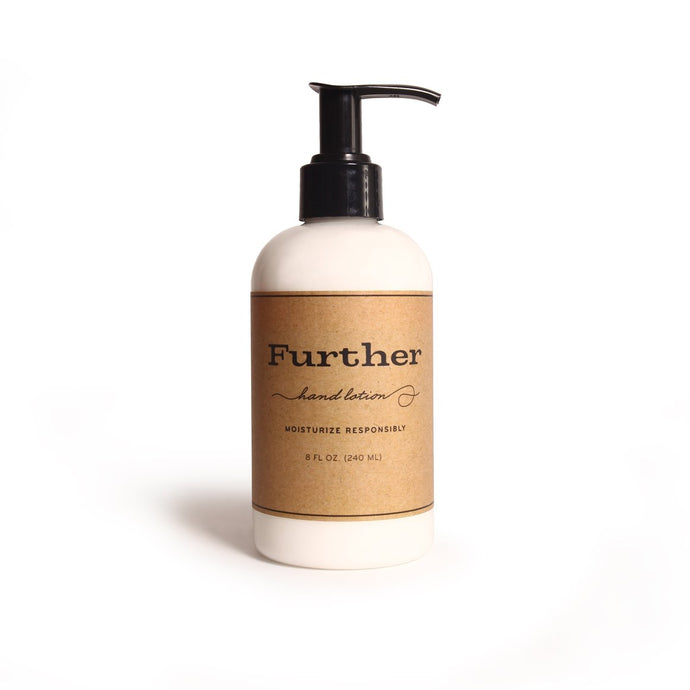 Further, Lotion, Lavender, Coriander, & Pine 8 oz