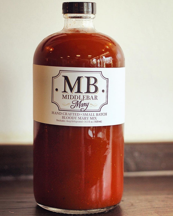 Middlebar, Bloody Mary Mix, 34.5 oz