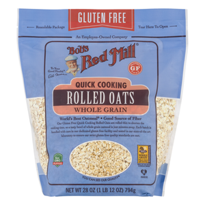Bob's Red Mill, Quick Cooking Whole Grain Rolled Oats, 28 oz
