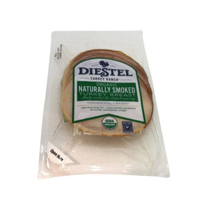 Diestel Organic Smoked Roasted Turkey, 6 oz