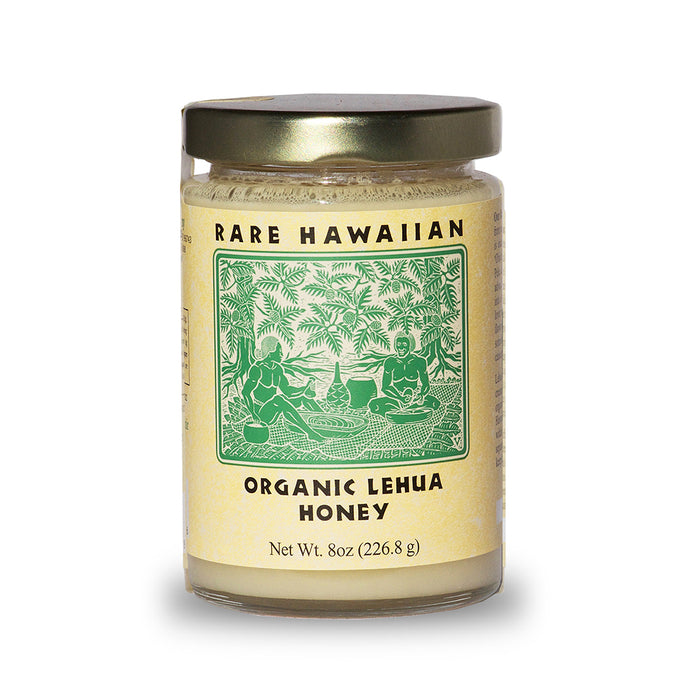 Rare Hawaiian, Organic Lehua Honey, 8 oz