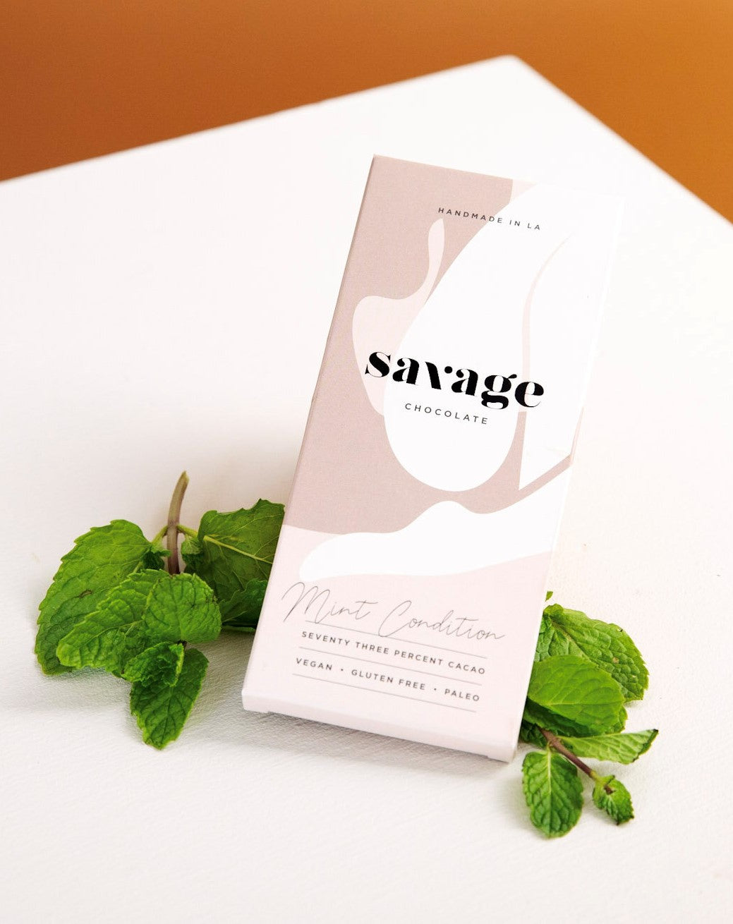 Savage Chocolate, Mint Condition, 73% Cacao