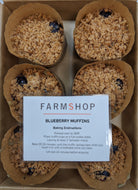 Farmshop Bakery, Frozen Blueberry Muffin, 6 pk