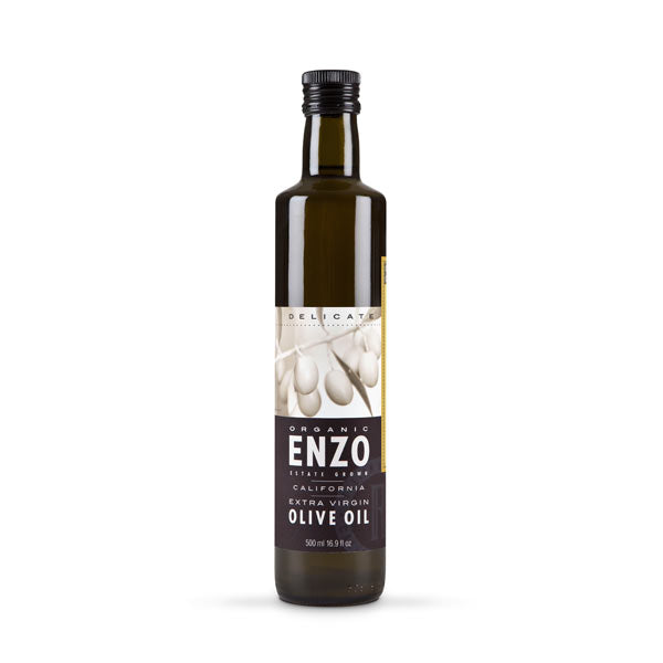 Enzo, Delicate – California Grown Arbequina Extra Virgin Olive Oil 500 ml