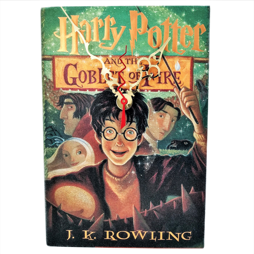 Harry Potter and the Goblet of Fire Book Clock