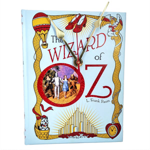 The Wizard of Oz Book Clock