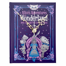 Load image into Gallery viewer, Alice's Adventures In Wonderland Book Clock