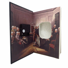 Load image into Gallery viewer, The Constitution of the United States of America Book Clock