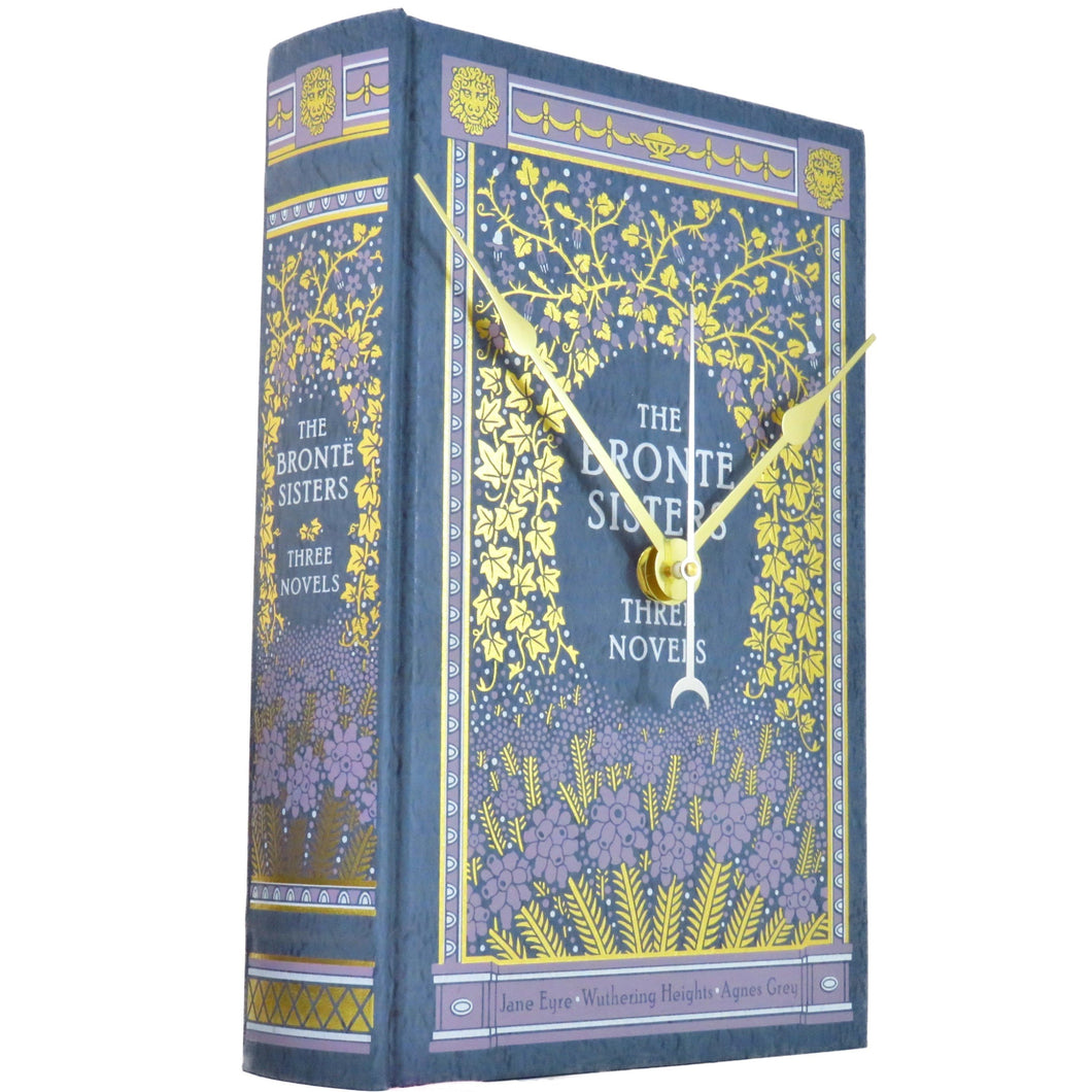 The Bronte Sisters Three Novels Book Clock