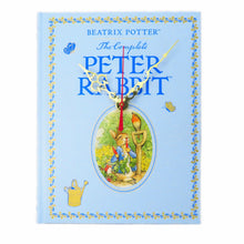 Load image into Gallery viewer, The Tales of Peter Rabbit Leather Bound Book Clock