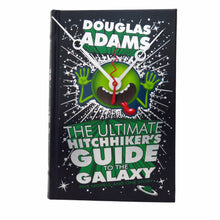 Load image into Gallery viewer, The Hitchhikers Guide to The Galaxy Book Clock