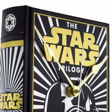 Load image into Gallery viewer, The Star Wars Trilogy Book Clock (Darth Vader Cover)