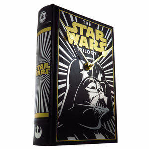 The Star Wars Trilogy Book Clock (Darth Vader Cover)