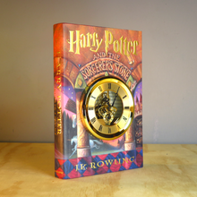 Load image into Gallery viewer, Harry Potter and the Scorcerer's Stone Skeleton Gears Book Clock