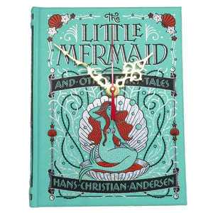 The Little Mermaid Book Clock