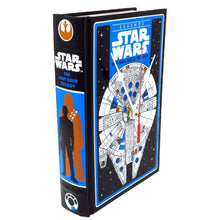 Load image into Gallery viewer, Star Wars The Han Solo Trilogy Book Clock