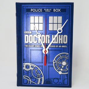 Doctor Who Book Clock