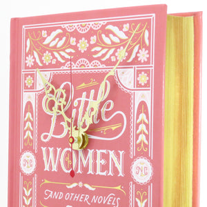 Little Women Book Clock