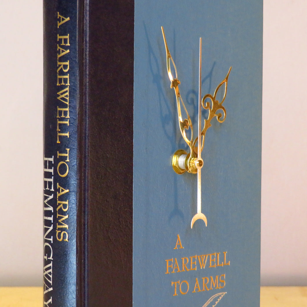 Ernest Hemingway Book Clock - A Farewell To Arms