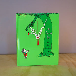 The Giving Tree Book Clock