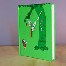 Load image into Gallery viewer, The Giving Tree Book Clock