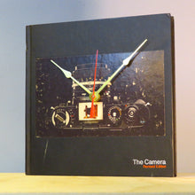 Load image into Gallery viewer, The Camera Book Clock