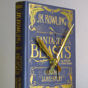 Fantastic Beasts And Where To Find Them - J.K. Rowling Book Clock