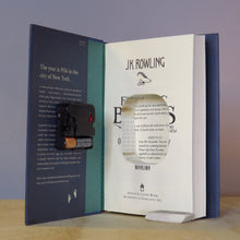 Load image into Gallery viewer, Fantastic Beasts And Where To Find Them - J.K. Rowling Book Clock