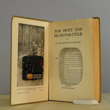 Load image into Gallery viewer, Tom Swift And His Motorcycle Vintage Book Clock