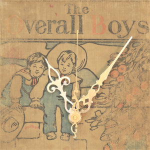 The Overall Boys - Vintage Book Clock