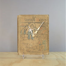 Load image into Gallery viewer, The Overall Boys - Vintage Book Clock