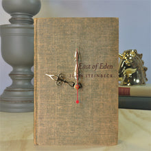 Load image into Gallery viewer, East of Eden Book Clock - John Steinbeck