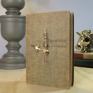 East of Eden Book Clock - John Steinbeck