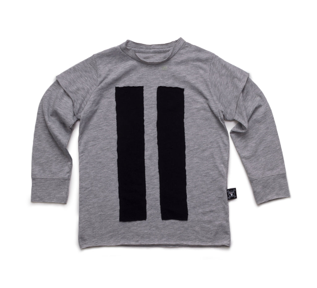 Striped Patch Tee