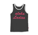ALOHA LADIES - TANK - VINTAGE BLACK