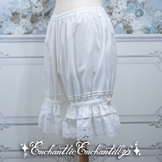 Rose Lace Drawers - Off White