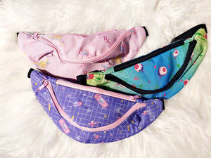 Magical Girl First Aid Fanny Packs - Blue/lavender