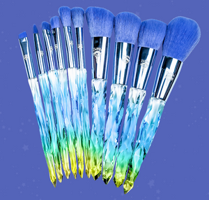 Aqua Nymph Crystal Pixie Brush Set